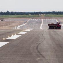 Po 35 dienas trukusios tako rekonstrukcijos lėktuvai sugrįžta į Vilnių