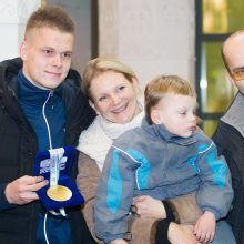 R. Meilutytė: medaliai nuteikė optimistiškai
