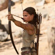 Naujoji Kapų plėšikė Lara Kroft: A. Jolie liks tik gražus prisiminimas