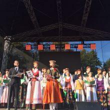Palanga švenčia Baltų vienybės dieną