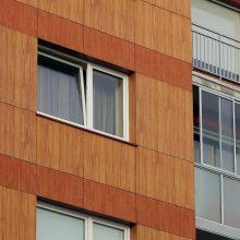 Nelaimė Vilkaviškyje: pro langą iškrito devynmetė
