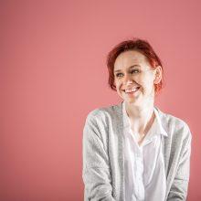 Aktorė I. Taločkaitė gyvenimą režisuoja pagal teatro grafiką