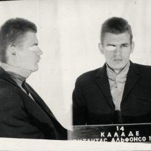 V. Kaladės nuotrauka iš baudžiamosios bylos
