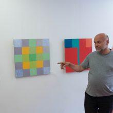 Dailininkas A. Andziulis: tapyba yra retas malonumas