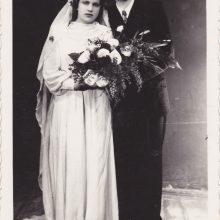 Simboliška: tada sutuoktiniai nė nenutuokė, kokią reikšmę vasario 14-oji įgaus po daugelio metų.