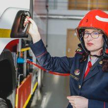 Klaipėdos ugniagesiams vadovauja moteris