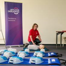 Dovana – pirmosios medicinos pagalbos kursai