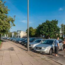 Trūkumas: kauniečiai pasigedo siūlomos alternatyvos, kur galėtų nemokamai palikti automobilius.