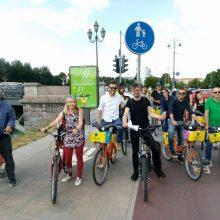 Vilniaus kryptis tiesiant dviračių takus – pavyzdys kitiems miestams