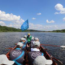 Kulautuvoje turizmo sezonas pradėtas pramogomis ant vandens