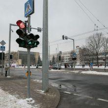 Vienose judriausių Vilniaus gatvių pradės veikti naujai įrengti šviesoforai