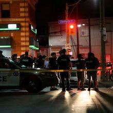 Toronte per šaudynes sužeisti devyni žmonės, užpuolikas negyvas