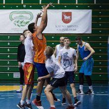 Krepšinio virusas grįžo į Sporto halę