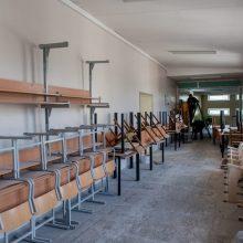 Melas, kad sostinės mokyklos suremontuotos