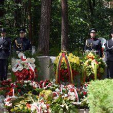 Lenkijoje paminėtos S. Dariaus ir S. Girėno skrydžio metinės