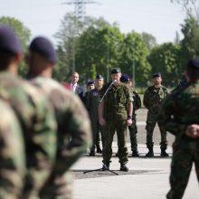Klaipėdoje sutikti Portugalijos rotacinių pajėgų kariai