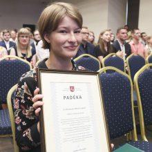 Šiemet geriausiai brandos egzaminus išlaikė abiturientė iš Vilniaus