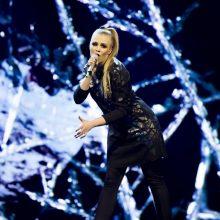 """Vienas iš """"Eurovizijos"""" kūrinių privertė M. Linkytę pravirkti"""
