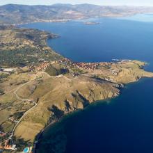 Lietuvos pasieniečių sraigtasparnis išskrenda į operaciją Graikijoje