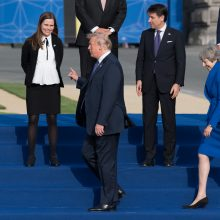 NATO viršūnių susitikimas kritikuoja Rusiją dėl raketų dislokavimo Kaliningrade