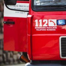 Varėnos rajone per gaisrą žuvo žmogus