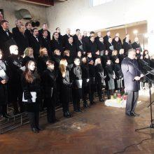 Sausio 13-oji Kauno rajone – su dainom ir šimtu laisvės žibintų