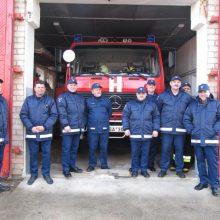 Rajono ugniagesių techniką papildė naujos priemonės
