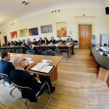 L. Linkevičius su pramonininkais aptarė Lietuvos užsienio politikos prioritetus