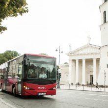 Į gatves išriedės nauji privačių vežėjų autobusai