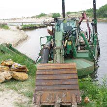 Vizija: Šventojoje siūloma atstatyti uostą be molų, kuris funkcionuotų, jei jį nuolat valytų žemsiurbė ar žemkasė.