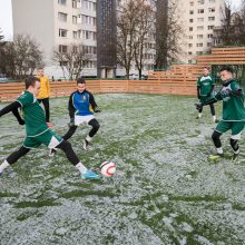 Sostinės futbolininkai turi naują stadioną