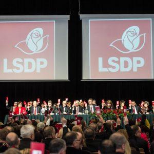 Socialdemokratai suvažiavime tvirtins Seimo rinkimų programą