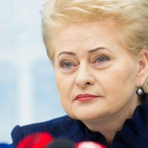 Prezidentė apie teisėjų korupcijos skandalą: triukšmo bus daug