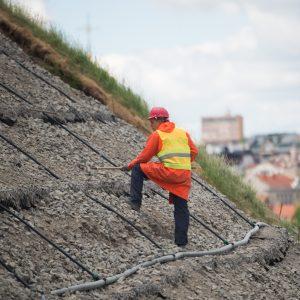Ministras: bus spartinamas Gedimino kalno tvarkymas