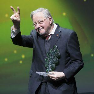 V. Landsbergis: jeigu žmonės pajėgūs džiaugtis gyvenimu, tai mano darbas padarytas