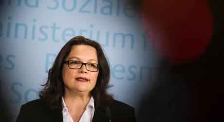 Vokietija paragino apriboti socialines išmokas imigrantams iš ES šalių