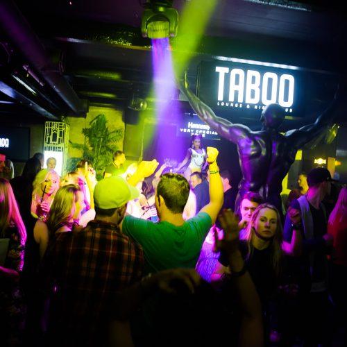 """Siautulingas vakarėlis """"Taboo"""" klube  © Ievos Jonelytės nuotr."""