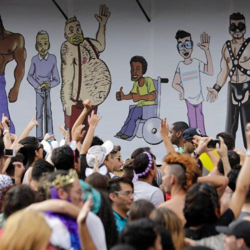"""Brazilijos gėjų paradas  © """"Scanpix"""" nuotr."""