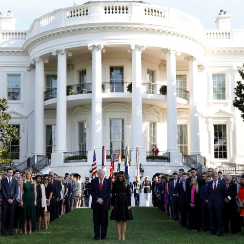 JAV pagerbtos rugsėjo 11-osios išpuolių aukos  © Scanpix nuotr.