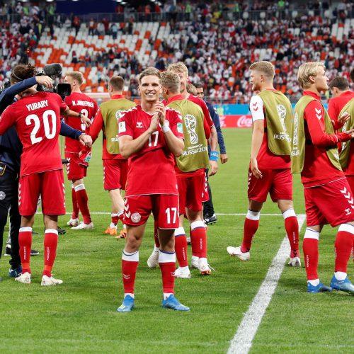 Danijos futbolininkai įveikė Peru komandą  © Scanpix nuotr.