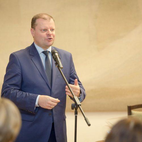Valstybinės J. Basanavičiaus premijos įteikimas  © Vyriausybės nuotr.