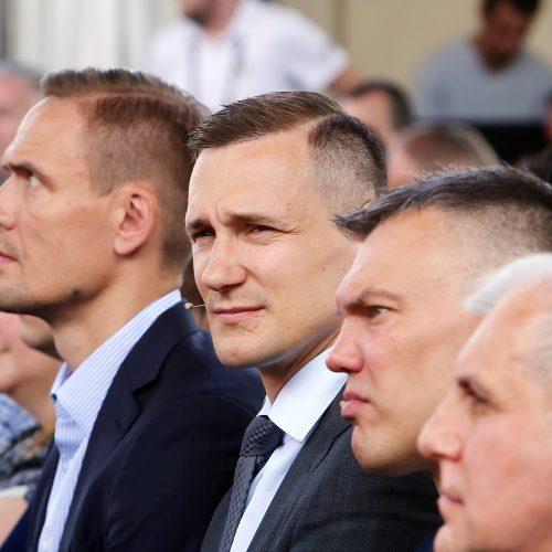 Eurolygos finalo ketverto turnyro atidarymas   © Aliaus Koroliovo nuotr.