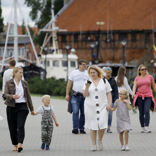 Rugpjūčio 14 -oji – Klaipėdos diena  © Vytauto Petriko nuotr.
