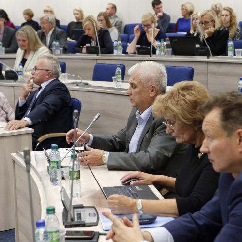 Tarybos posėdis 2017.09.14  © Vytauto Petriko nuotr.