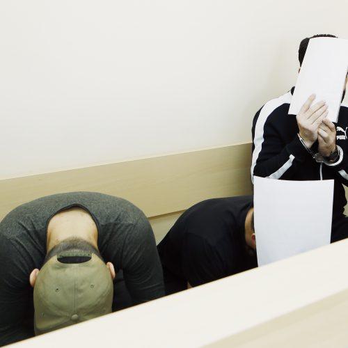 Tadžikų teismas Klaipėdoje  © Vytauto Petriko nuotr.