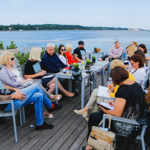 Jūros šventė 2018 spaudos konferencija
