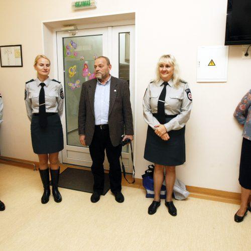 Mažuosius ligoninėje džiugino pėdsekys  © Vytauto Liaudanskio nuotr.
