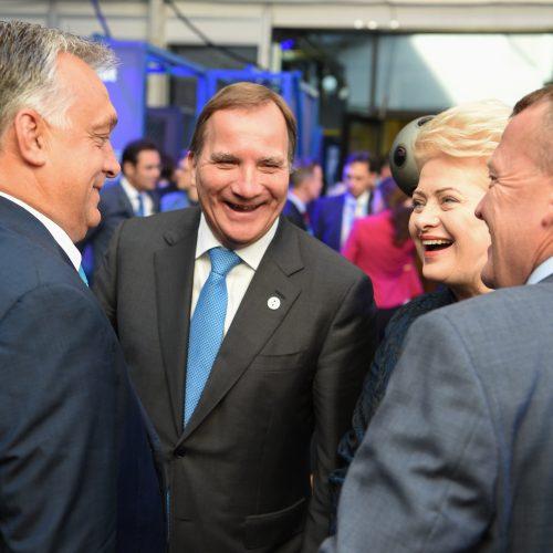 Prezidentė dalyvauja ES viršūnių susitikime Taline