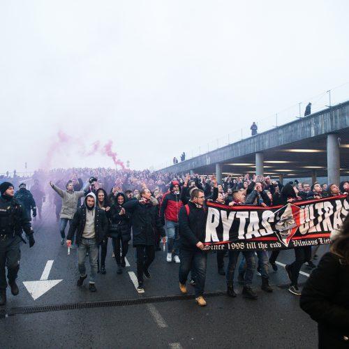 """""""Ryto"""" sirgaliai Kaune  © Teodoro Biliūno/Fotobanko nuotr."""