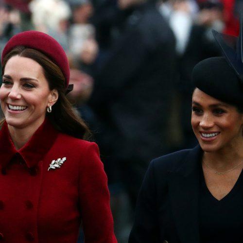 Britų karališkoji šeima švenčia Kalėdas
